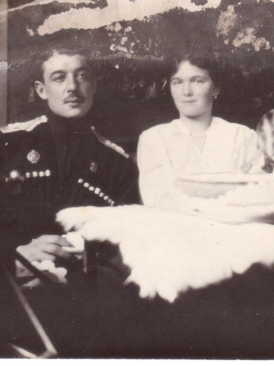 Fedushkin with Grand Duchess Olga