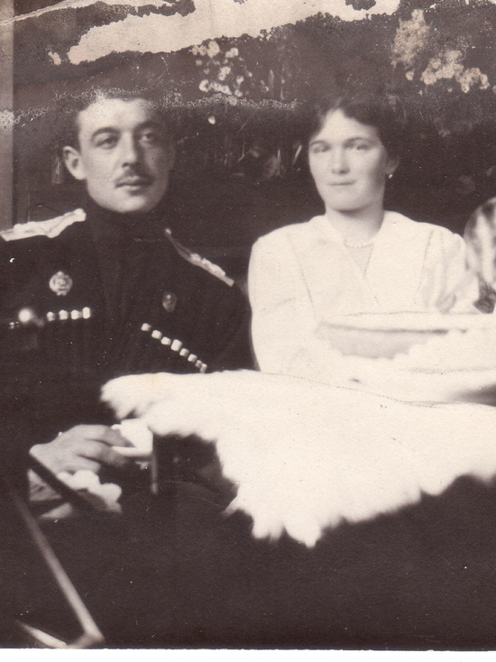 Fedushkin with Grand Duchess Olga