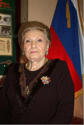 Chairman of the Grand Duchess Olga Alexandrovna Charitable Foundation Mrs. Olga Kulikovsky