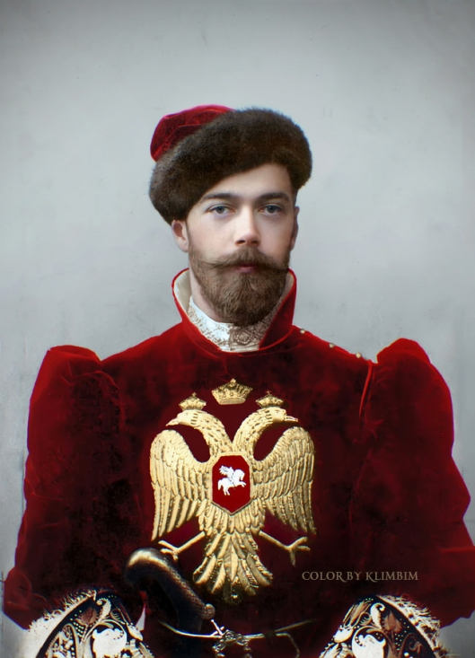Nicholas II in old Russian falconer costume | Photo © Olga Shirnina