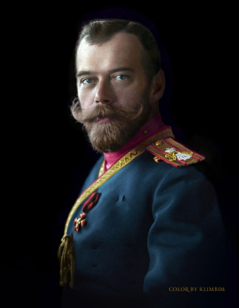 Nicholas II of Russia in the uniform of the Life-Guards 4th The Imperial Family's Rifle Regiment, 1912 | Photo © Olga Shirnina