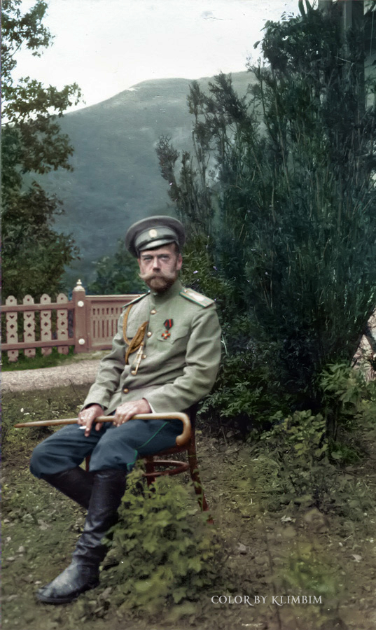 Nicholas II, Crimea, May 1914 | Photo © Olga Shirnina