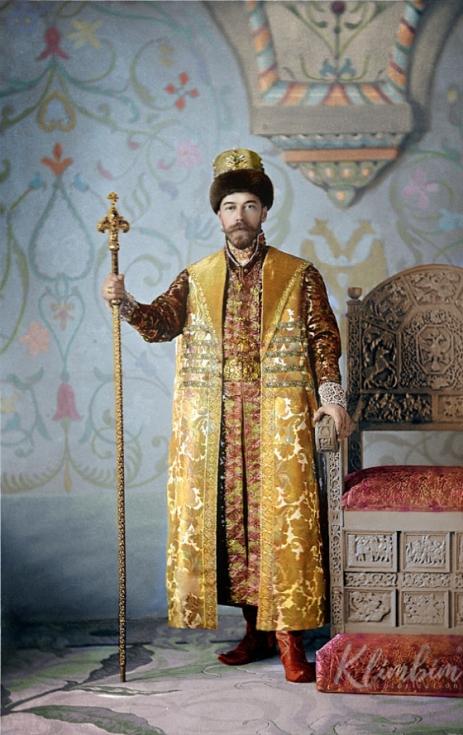 Nicholas II in 17th century costume| Photo © Olga Shirnina