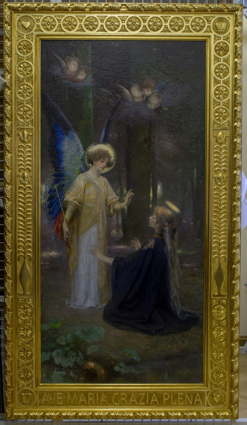 The Annunciation by Susanna Renata Granich Photo © Tsarskoye Selo State Museum-Reserve