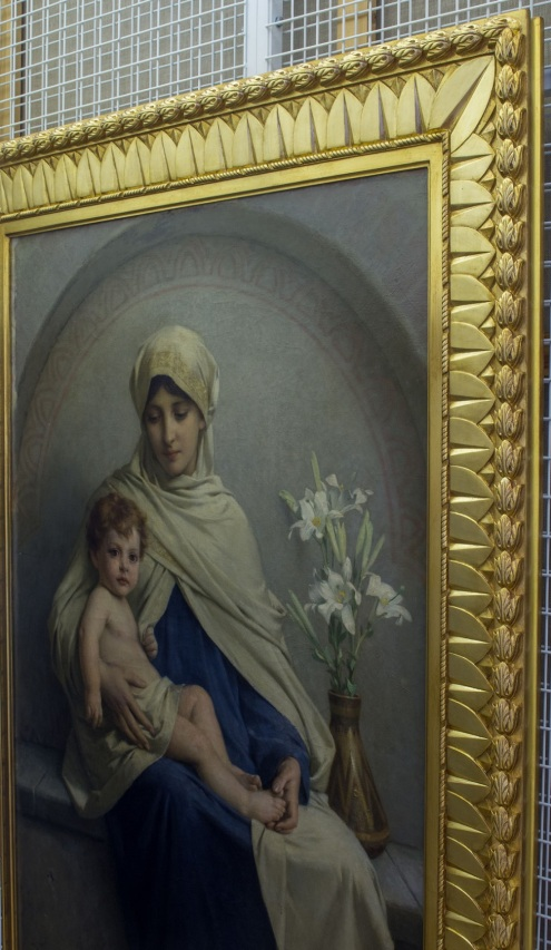 The Madonna and Child by Paul Tuman Photo © Tsarskoye Selo State Museum-Reserve