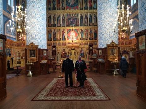 View of the iconostasis of the Upper Church © Духовно-просветительский центр