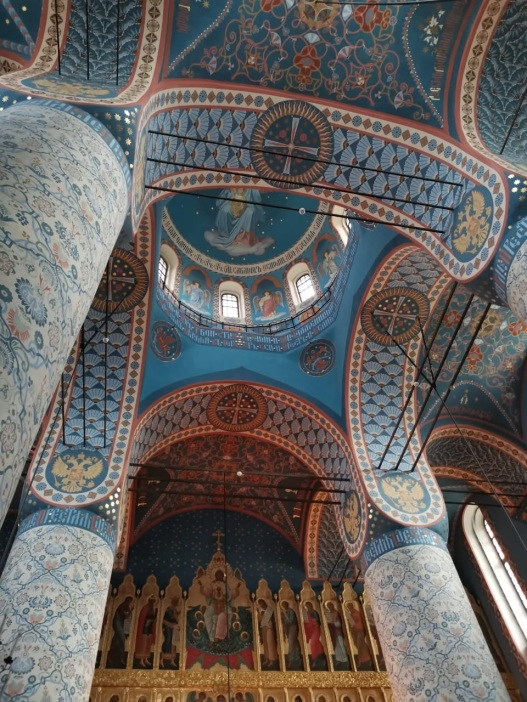 View of the dome and iconostasis of the Upper Church © Духовно-просветительский центр